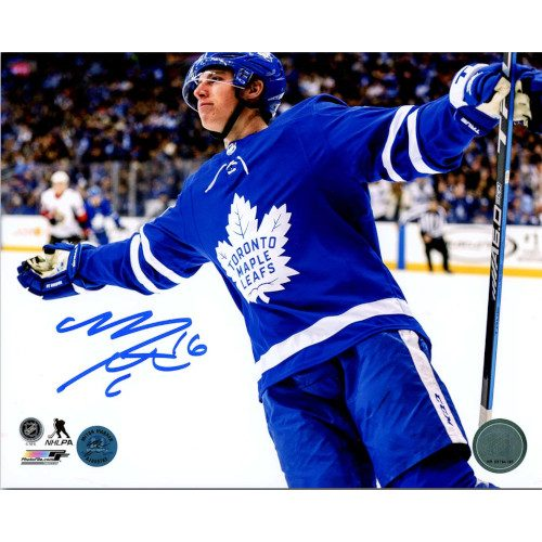 Mitch Marner Toronto Maple Leafs Autographed 5 Point Game 8x10 Photo