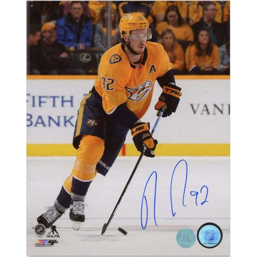 Ryan Johansen Nashville Predators Autographed Hockey 8x10 Photo