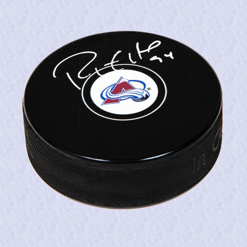 Ryan Smyth Colorado Avalanche Signed Autograph Model Hockey Puck
