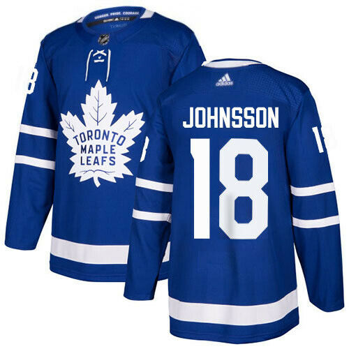 Andreas Johnsson Toronto Maple Leafs Adidas Authentic Home NHL Jersey