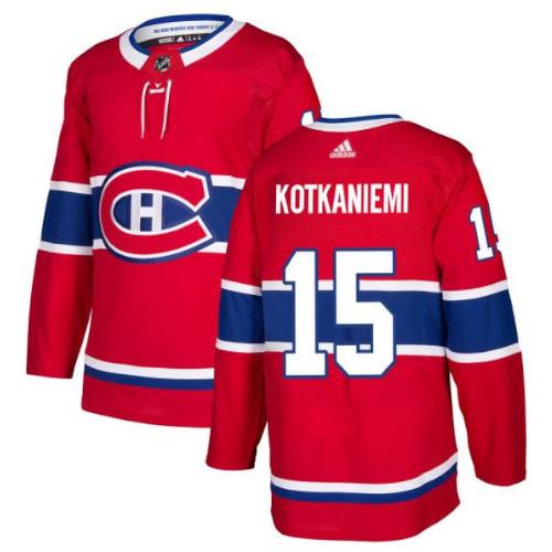 Jesperi Kotkaniemi Montreal Canadiens Adidas Authentic Home NHL Jersey