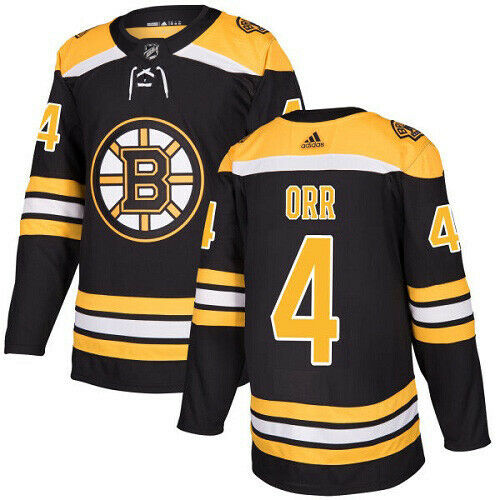 Bobby Orr Boston Bruins Adidas Authentic Home NHL Hockey Jersey