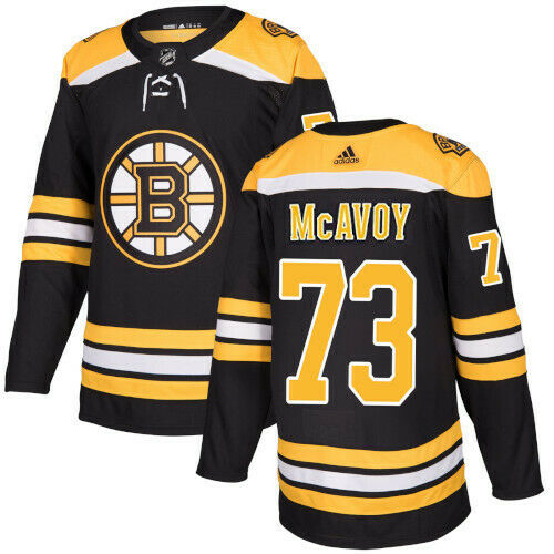 Charlie McAvoy Boston Bruins Adidas Authentic Home NHL Jersey