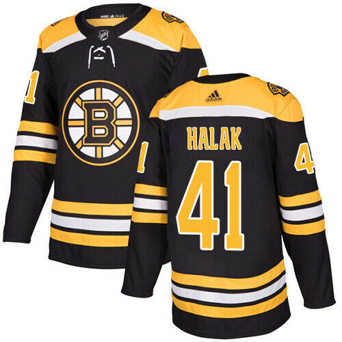 Jaroslav Halak Boston Bruins Adidas Authentic Home NHL Jersey