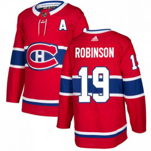 Larry Robinson Montreal Canadiens Adidas Authentic Home NHL Jersey