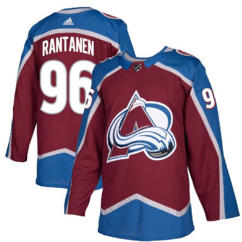 Mikko Rantanen Colorado Avalanche Adidas Authentic Home NHL Hockey Jersey