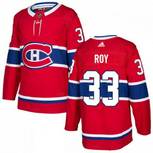 Patrick Roy Montreal Canadiens Adidas Authentic Home NHL Jersey