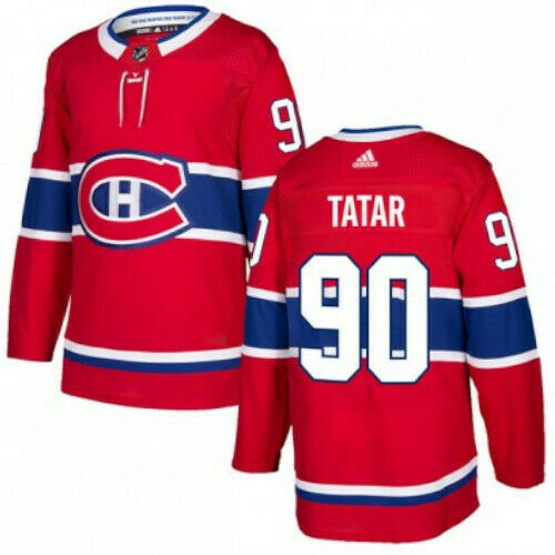 Tomas Tartar Montreal Canadiens Adidas Authentic Home NHL Jersey