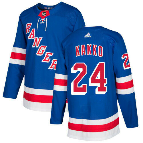 Kaapo Kakko New York Rangers Adidas Authentic Home NHL Hockey Jersey