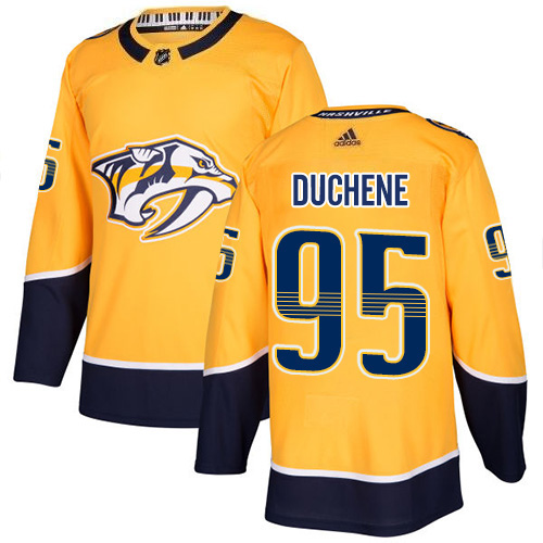 Matt Duchene Nashville Predators Adidas Authentic Home NHL Hockey Jersey