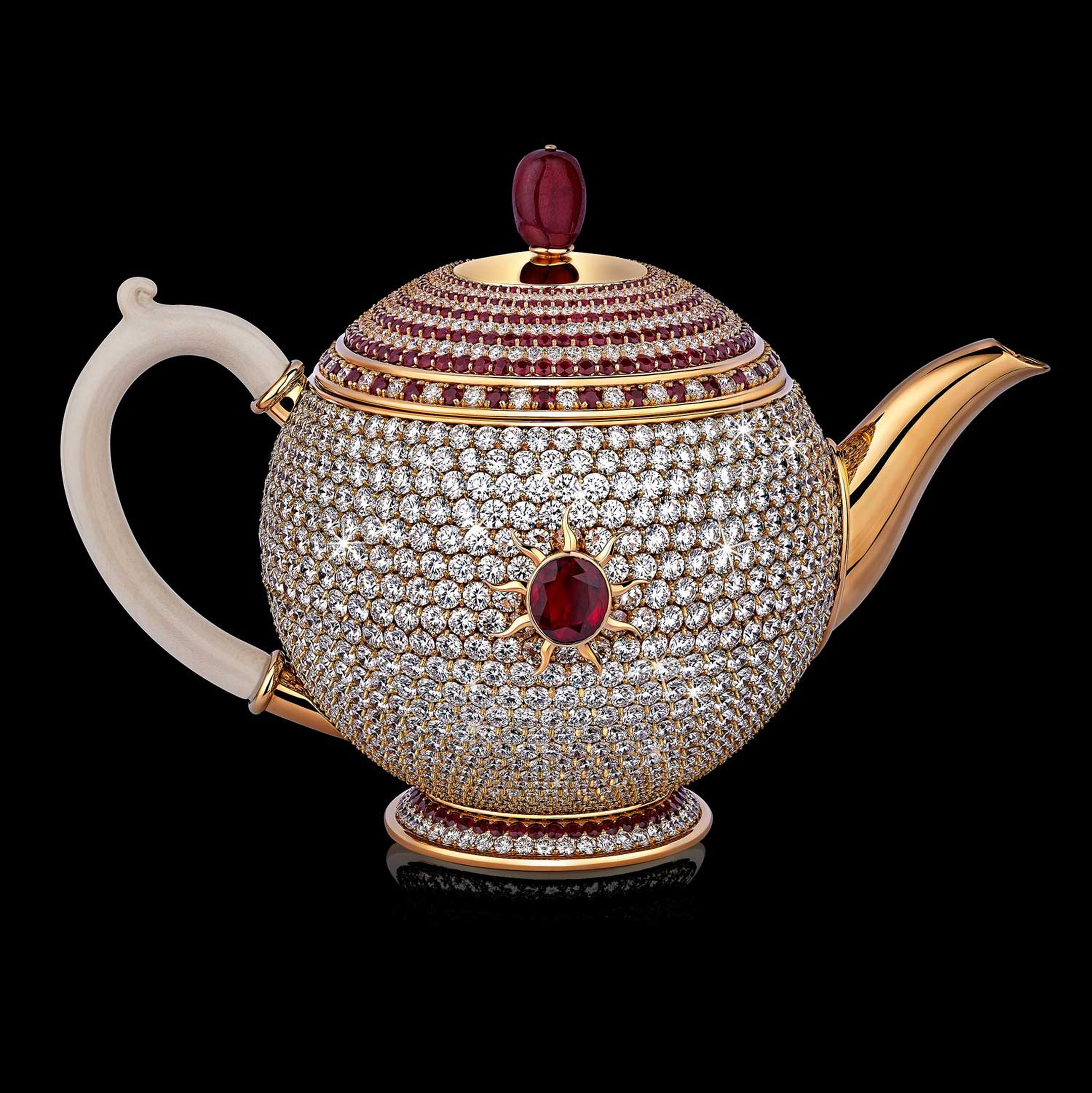 The world's most expensive teapot
