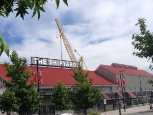 Historic Shipyard in North Vancouver