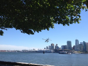 View from Stanley Park - Downtown