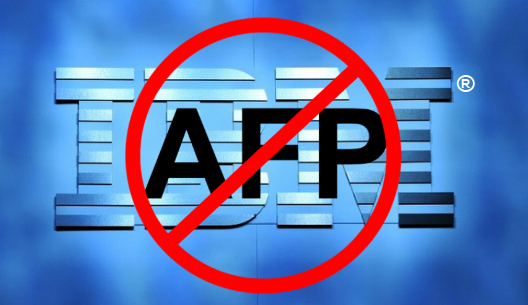 IBM ends AFP support