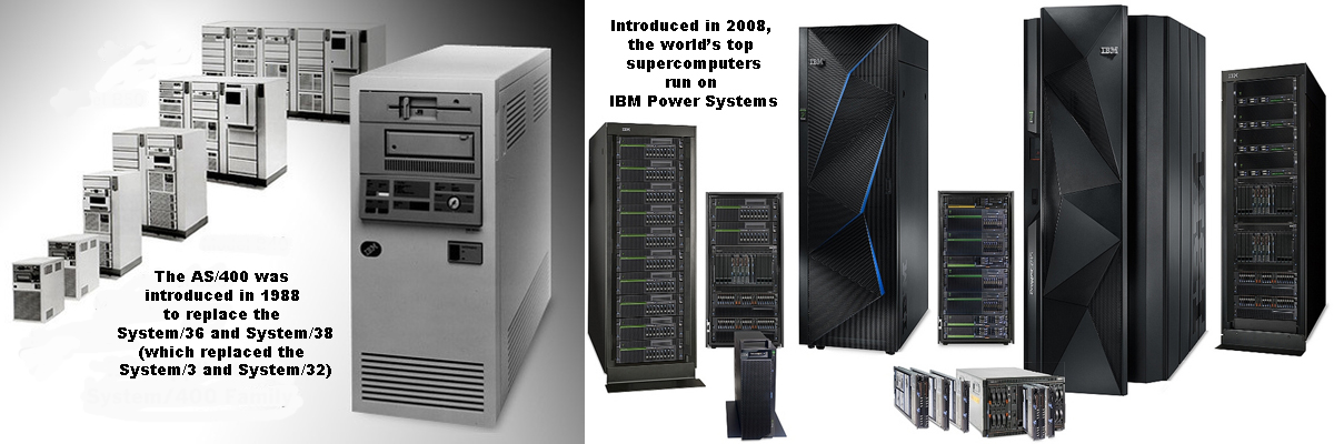 AS/400 to the IBMi