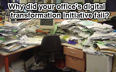 Digital Transformation Failure?