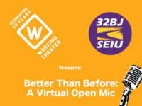 Working Theater and 32BJ Open Mic Night 2020