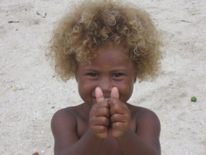 blond-melanesian-child-120503