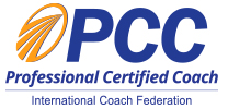logo PCC Professional Certified Coach International Coach Federation