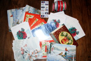 A selection of Christmas Cards