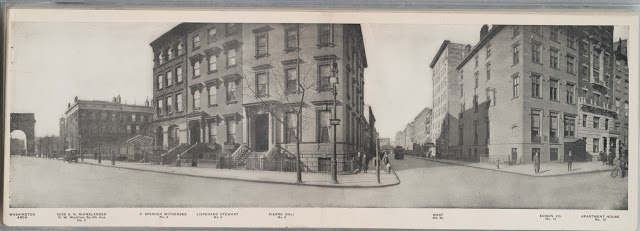 Buildings from turn of the century Manhattan, New York