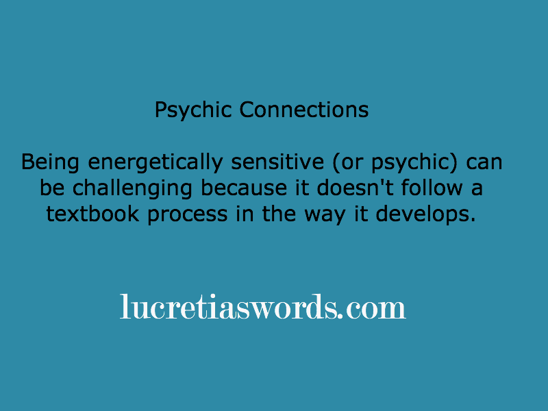 Psychic Growth Spurts and other Surprises