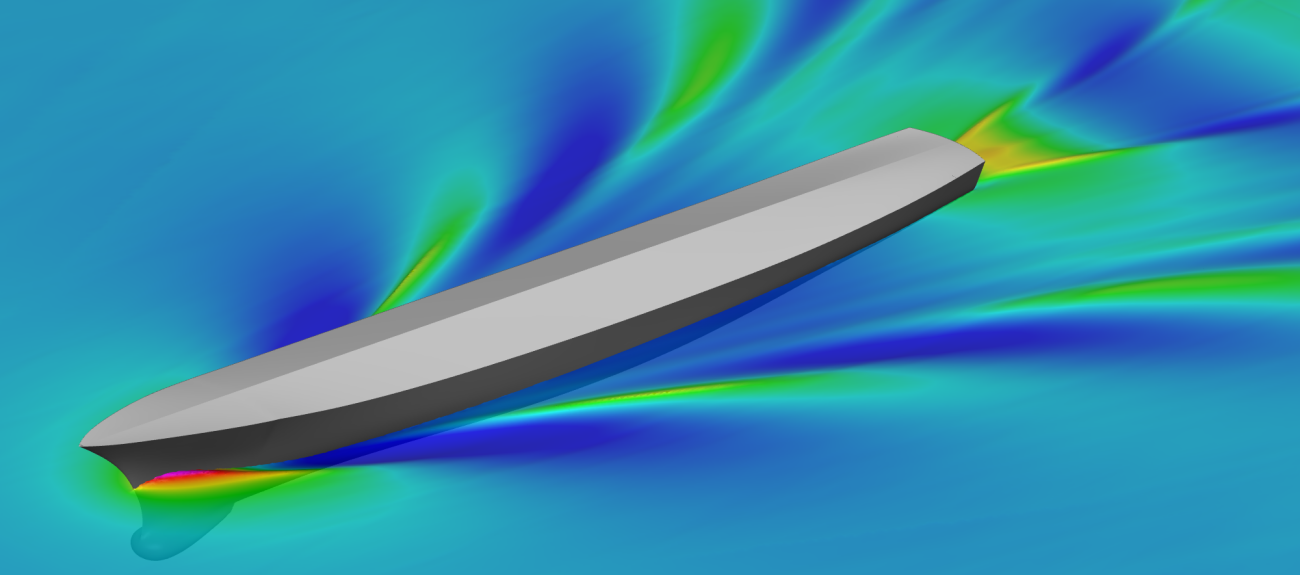 Orca3D Marine CFD | Orca3D Naval Architecture Software