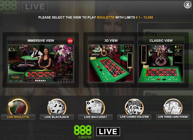 options live roulette