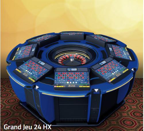 amatic roulette jeu 24HX