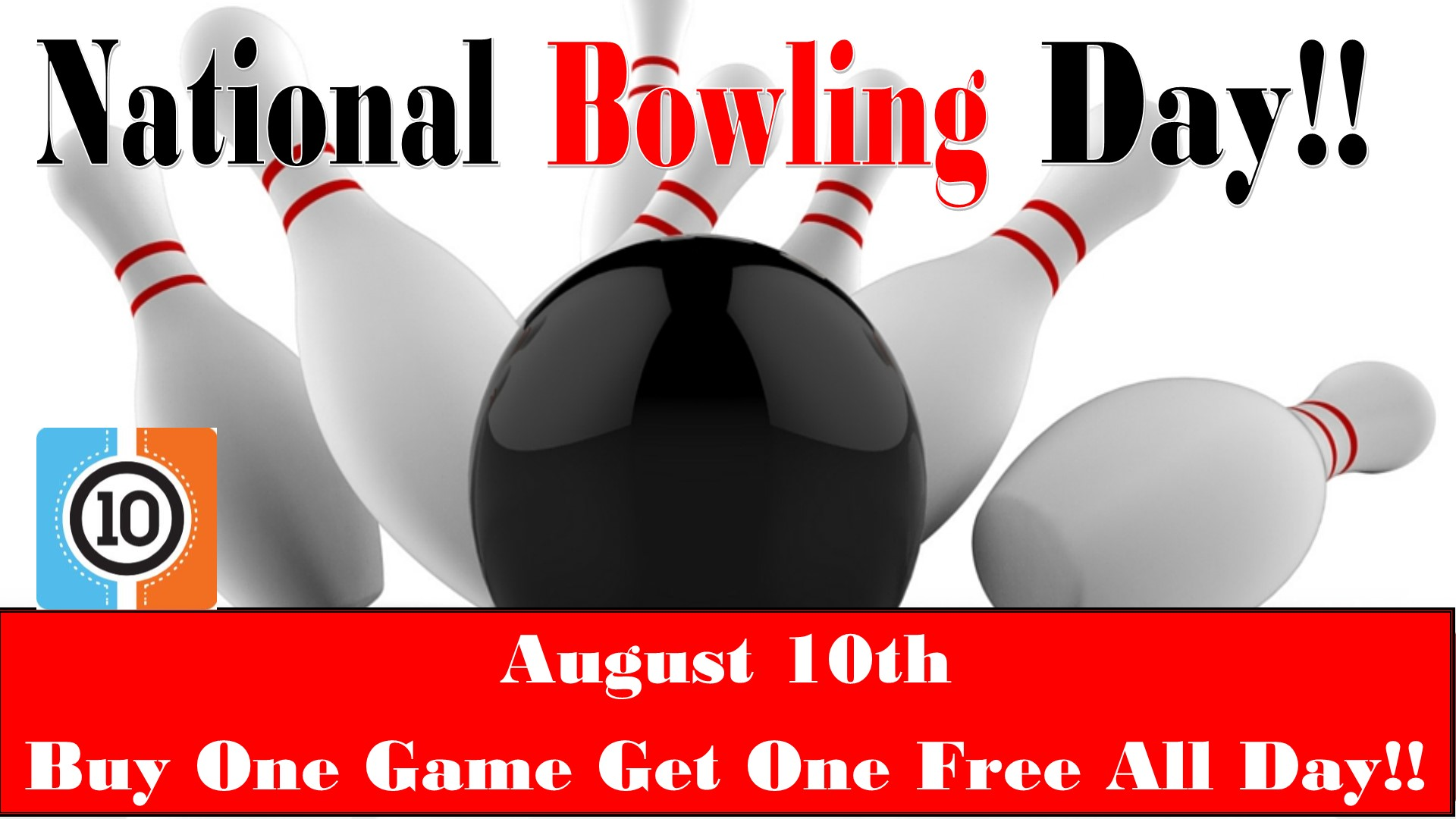 National bowling day tv