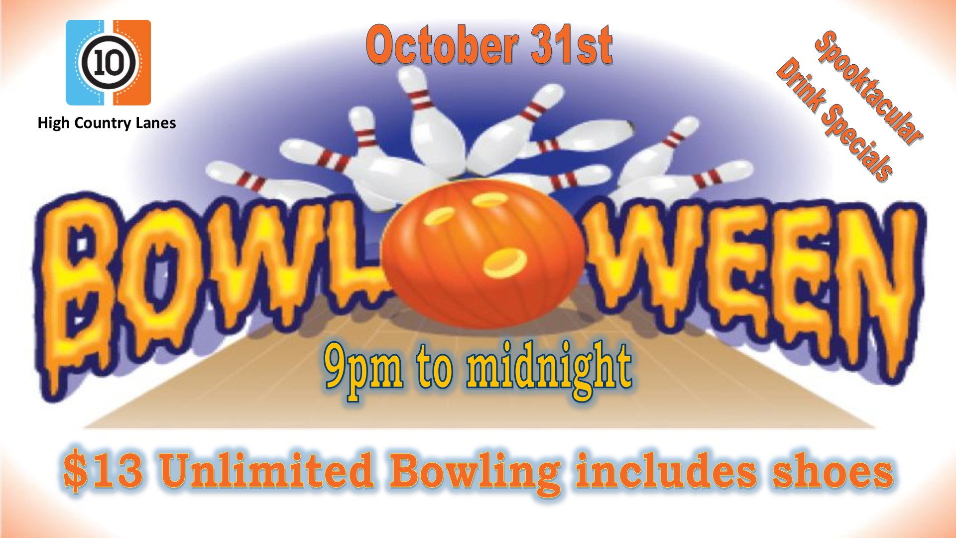 Bowloween Party TV