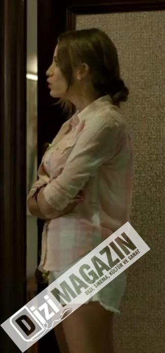 Medcezir Kıyafetleri - Serenay Sarıkaya Levi's Gömlek ve Şort