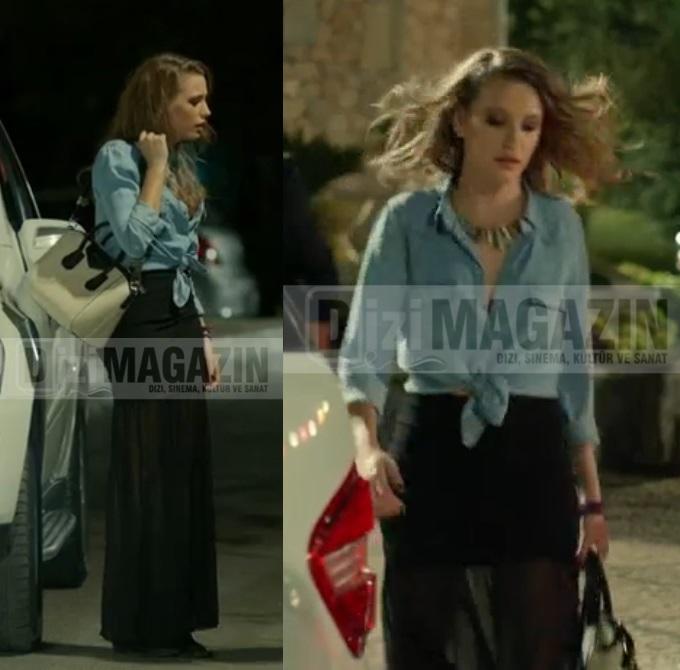 Medcezir Serenay Sarıkaya Eteği H&M