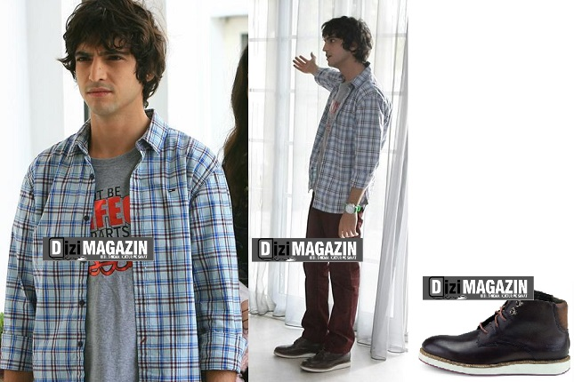 Medcezir Mert Kıyafetleri - 16. Bölüm - Mert Gömleği Tommy Hilfiger - Ayakkabılar Levis