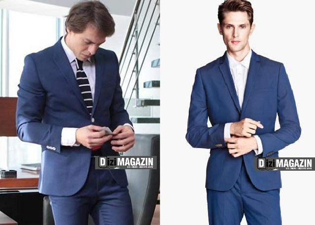 Medcezir - Orkun - Mavi Takım Elbise - H&M