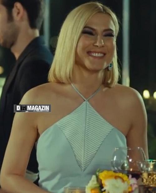 Medcezir Sude Elbise - Batik By Özgür Masur