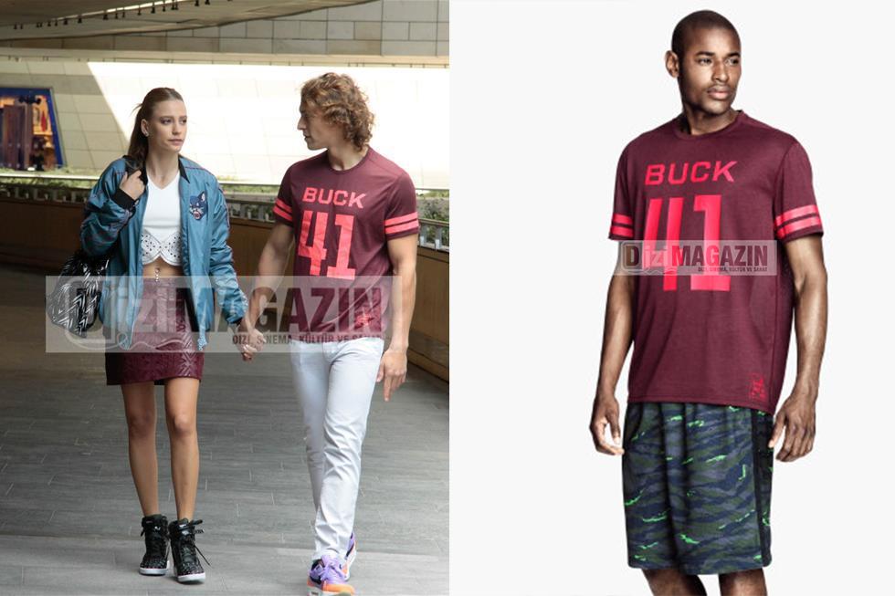 Orkun Kırmız T-Shirt H&M Marka