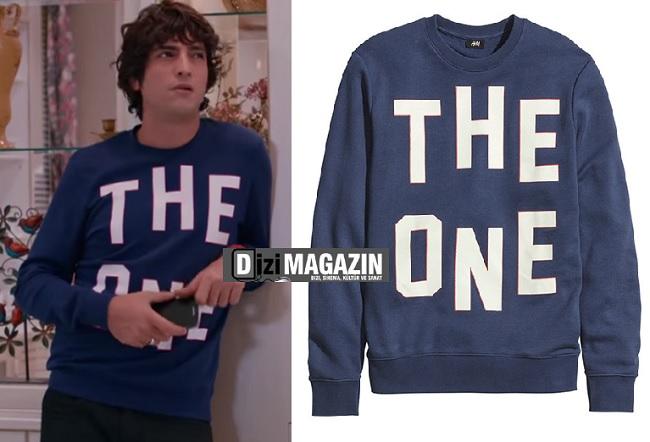 Medcezir Mert Kıyafetleri - The One Yazılı Sweatshirt - H&M