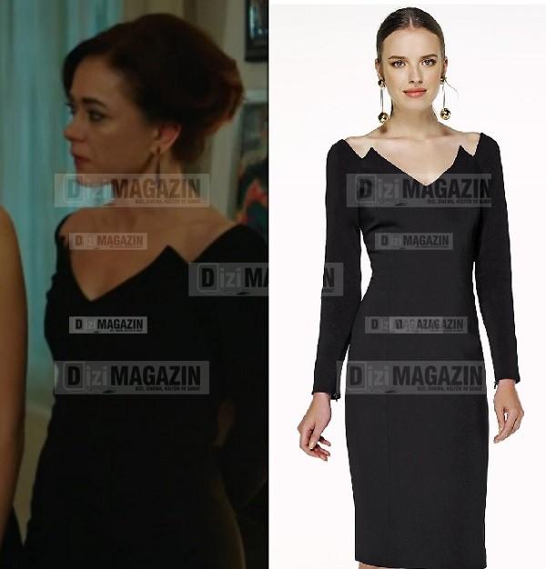Gönül İşleri Servet - Siyah Elbise - İpekyol