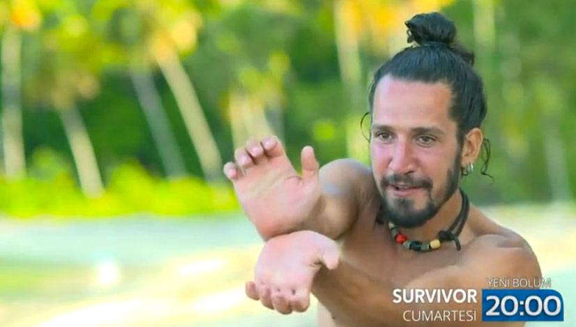 Survivor - Turabi - Doğukan - Aduket  Tartışması