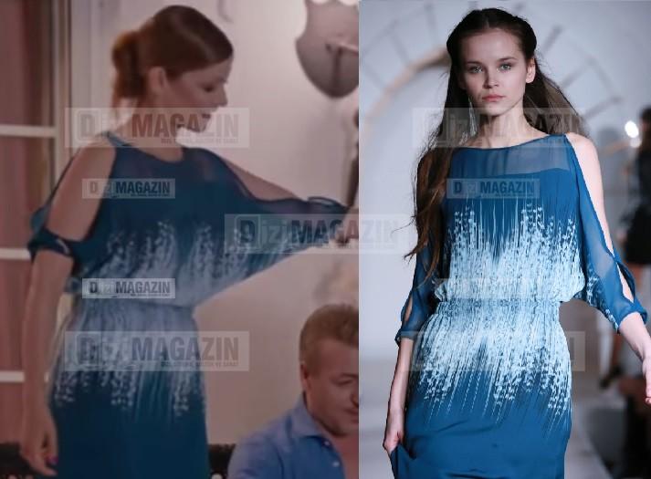 Medcezir Sedef Elbise - Gyunel