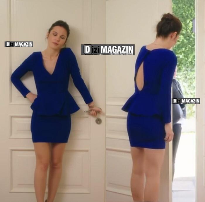 Ufak Tefek Cinayetler Arzu Mavi Elbise