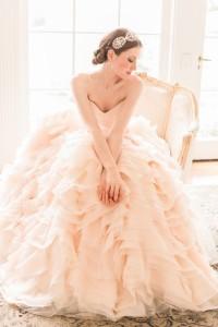 blush princess dress