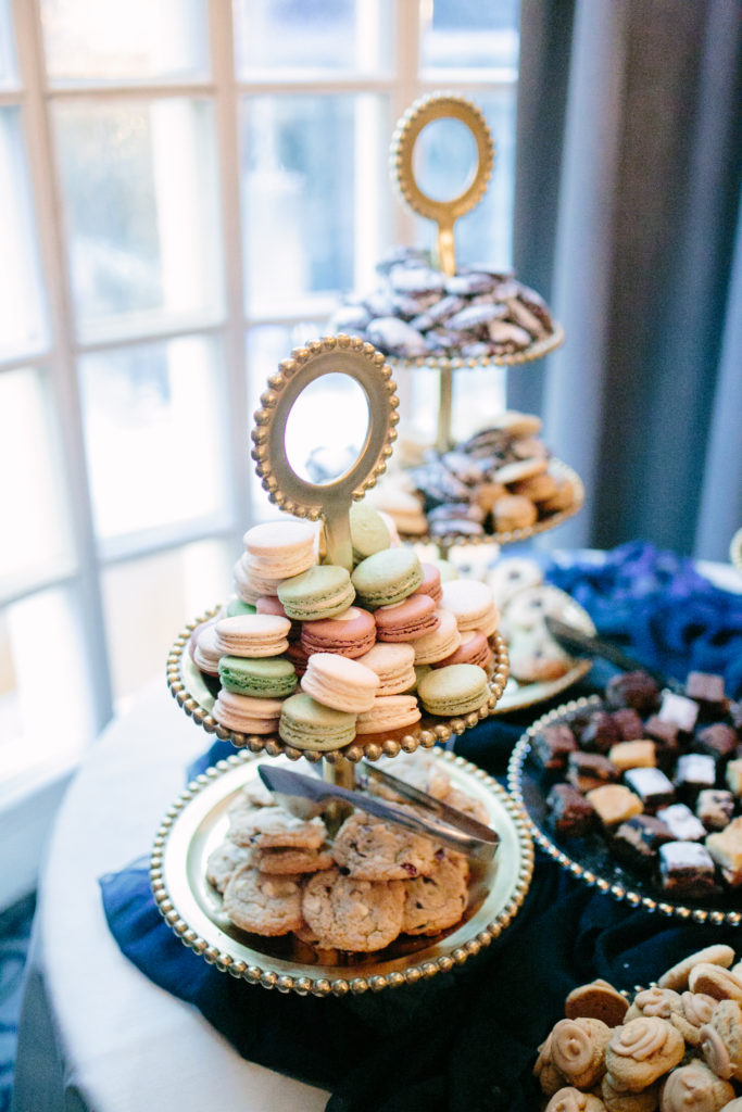 Cookie Table, Wedding details, The Athletic Club of Columbus
