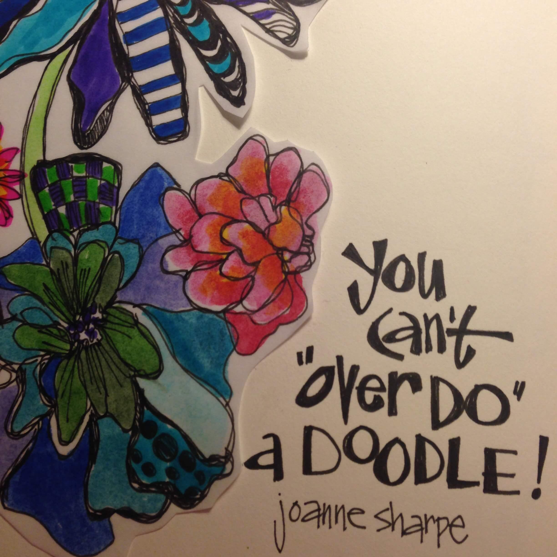 Joanne Sharpe Art Journaling