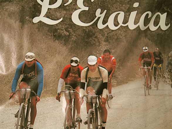 de historische wielerwedstrijd eroica