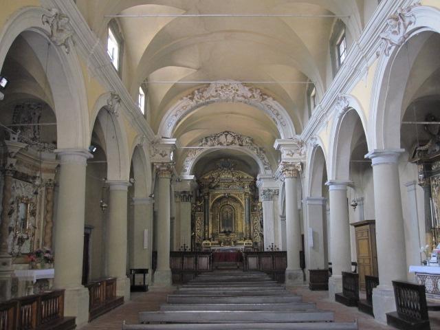 Interieur kerk SS. Crocifiso