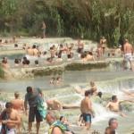 Ontspannen in de vele warmwaterbronnen die Toscane rijk is
