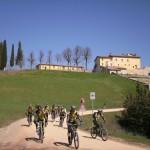 Fietsen in Toscane