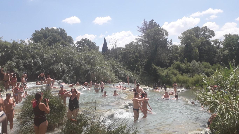 warmwaterbronnen van Saturnia Toscane